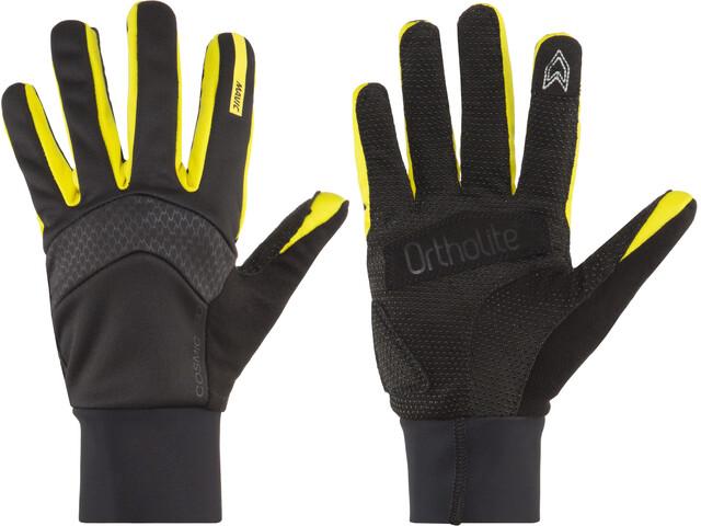 Mavic Cosmic Pro Insulated Gloves Black/Yellow Mavic